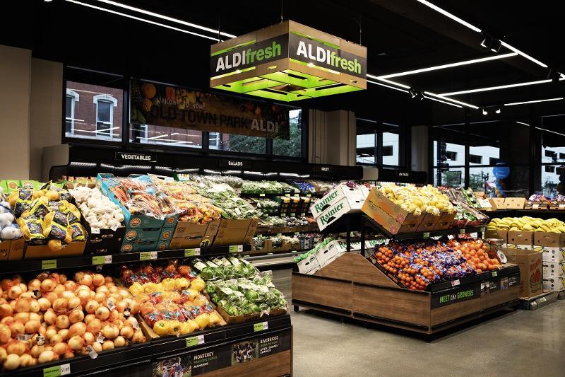 Aldi in-store produce
