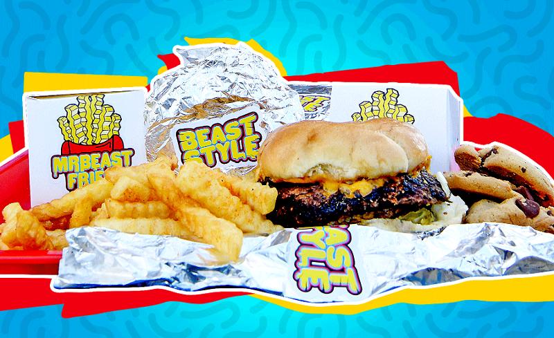 Mr. Beast Burger sales