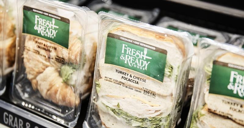 Fresh & Ready sandwiches