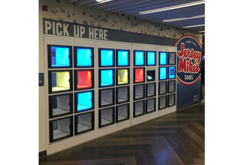 Jersey Mike's lockers