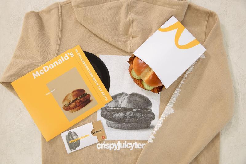 McDonald's crispy chicken sandwich promotion