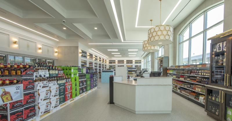 New Parker's Spirits store