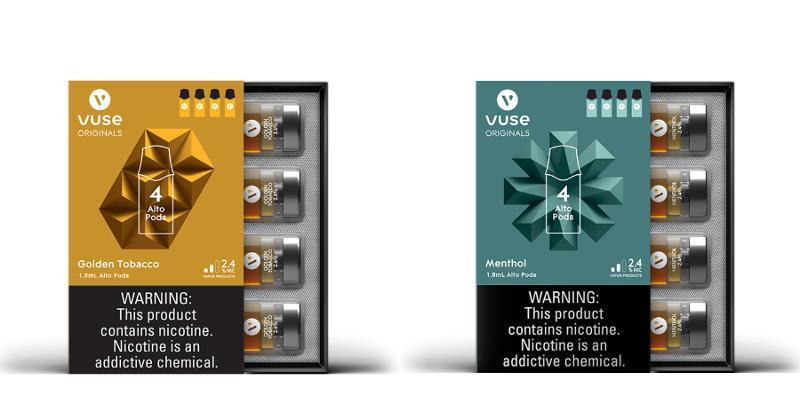 Vuse 4-pod packs