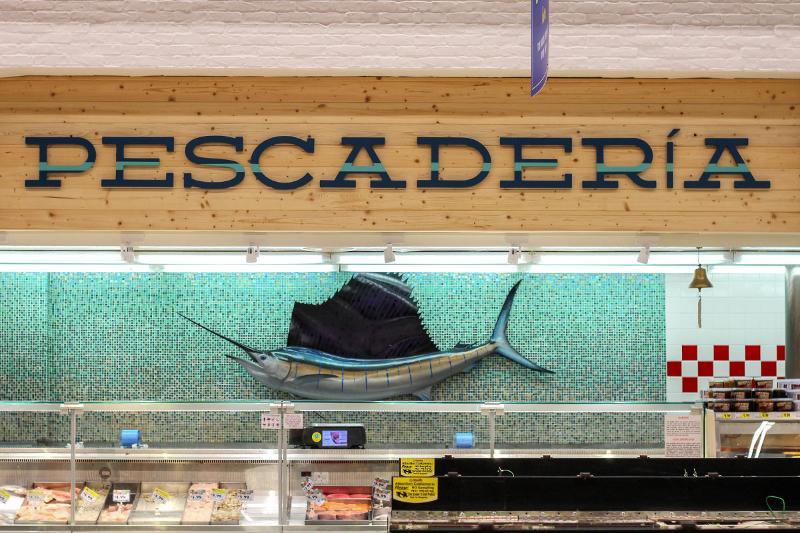 Vallarta Supermarkets seafood department