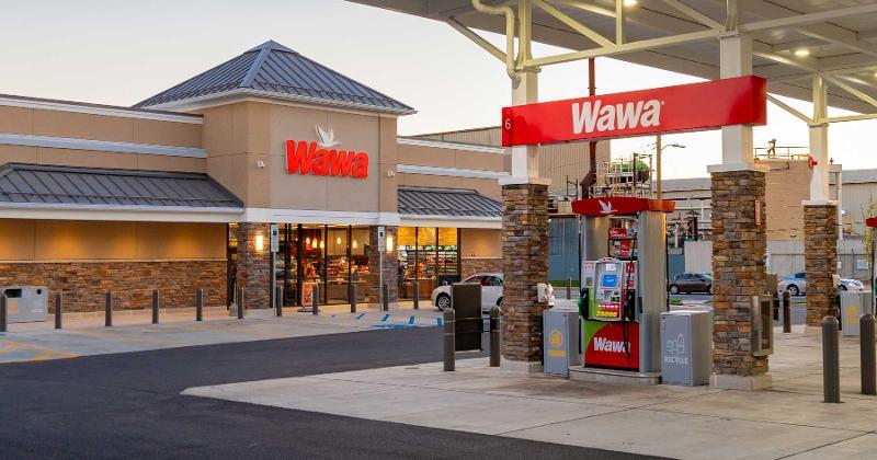 Wawa gas station