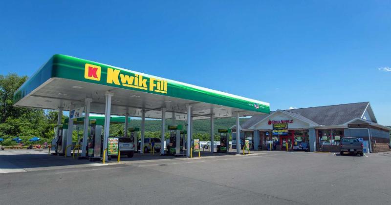 Kwik fill gas station