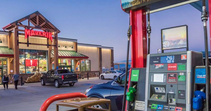 Maverik gas station