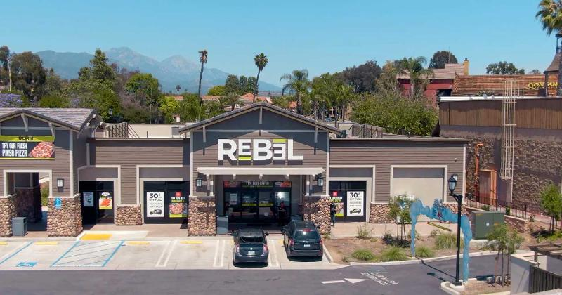 Rebel store front