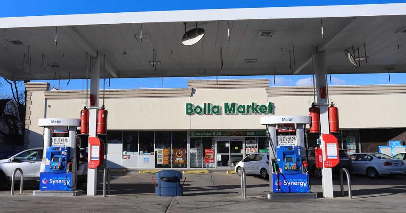 Bolla Market and gas station