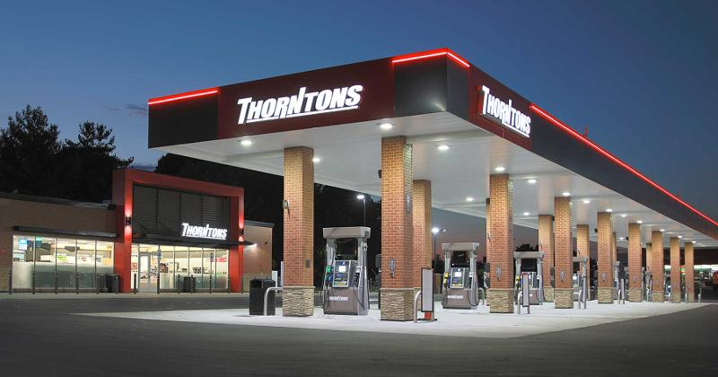 Thorntons gas station