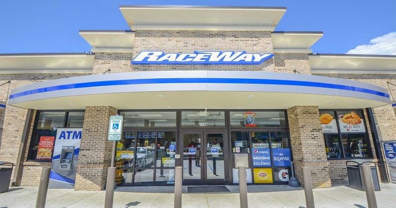 Raceway store front
