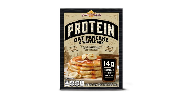 Aunt Maple's Protein Pancake Mix: Oat