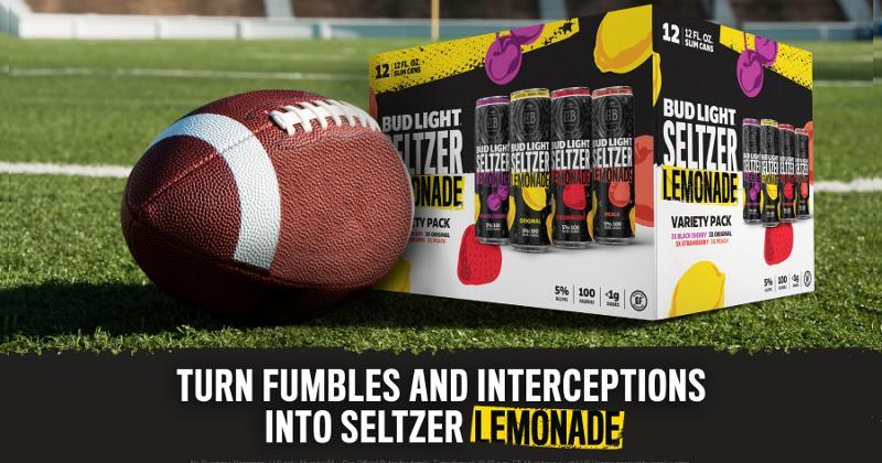 Bud Light Seltzer Lemonade Super Bowl commercial csp