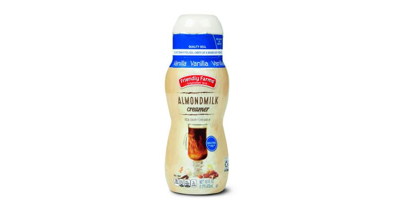 Friendly Farms Almondmilk Coffee Creamers: Vanilla