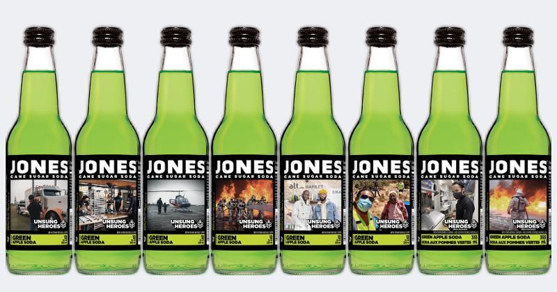 Jones Soda Unsung Heroes collection
