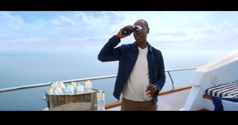 Michelob Ultra Organic Seltzer Super Bowl commercial