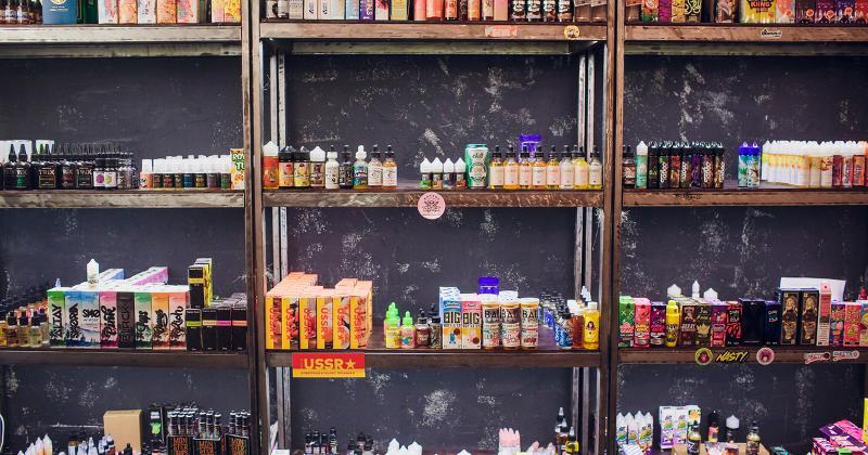 vapor shelves