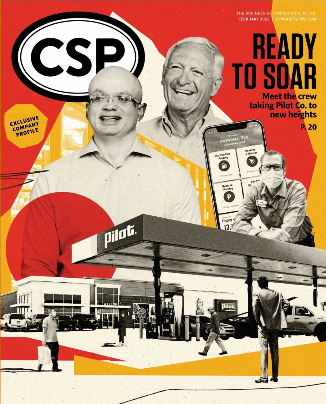 CSP Daily News Magazine Ready to Soar | February 2021 Issue
