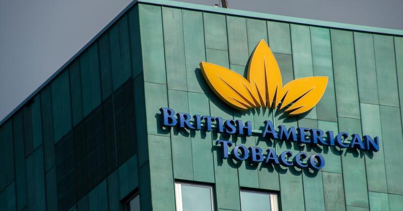 British American Tobacco building sign