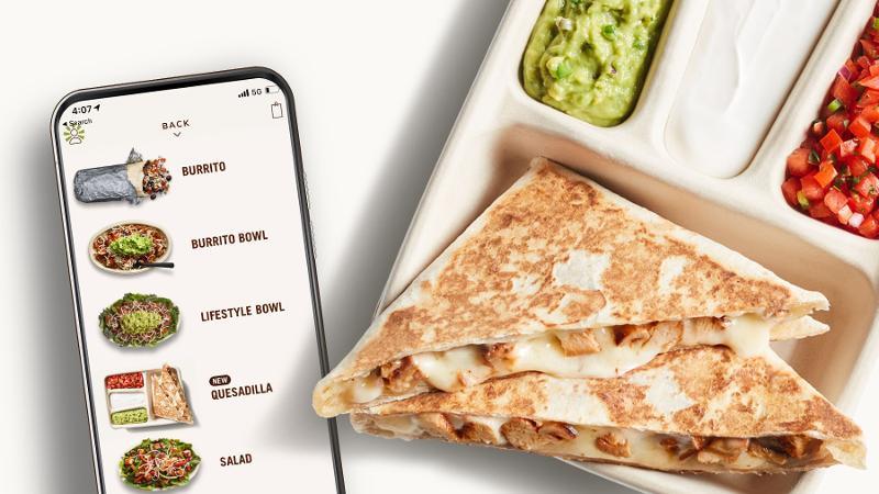Chipotle Mexican Grill Quesadilla