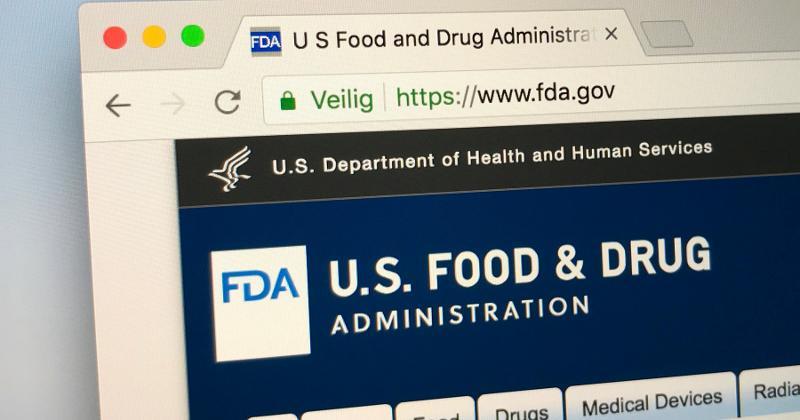 FDA webpage