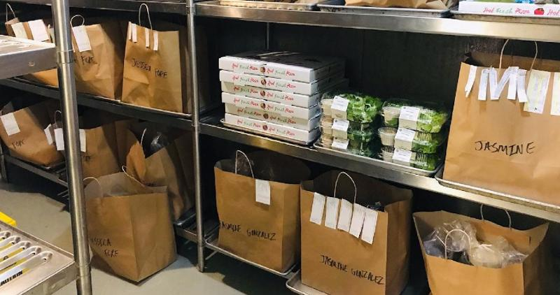 Packaged meal kits