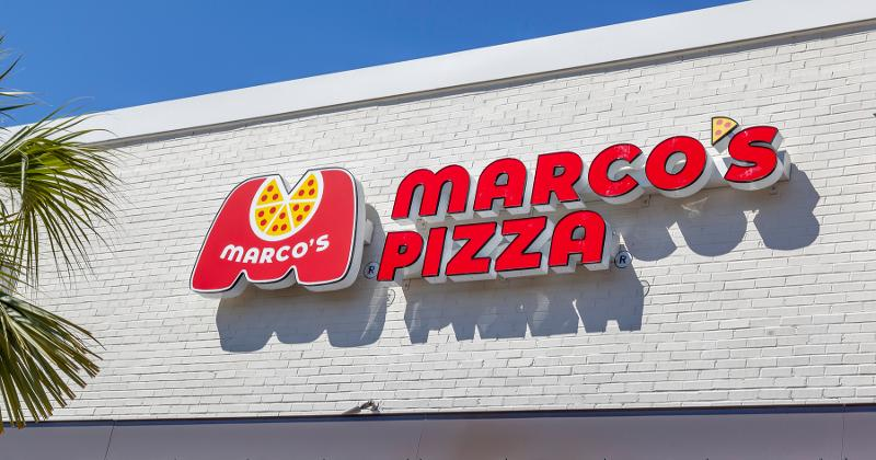 Marco's Pizza sign