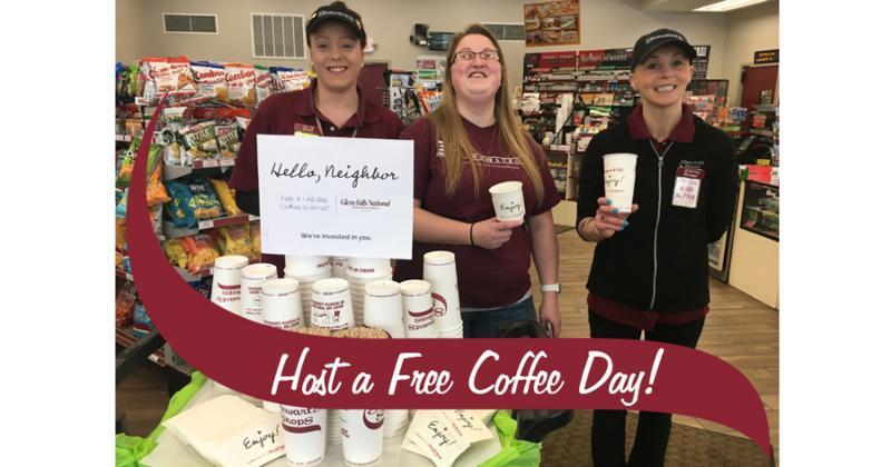 Stewart's Shops Free Coffee Day