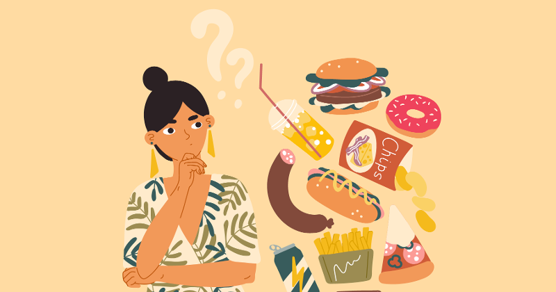 Snacking illustration