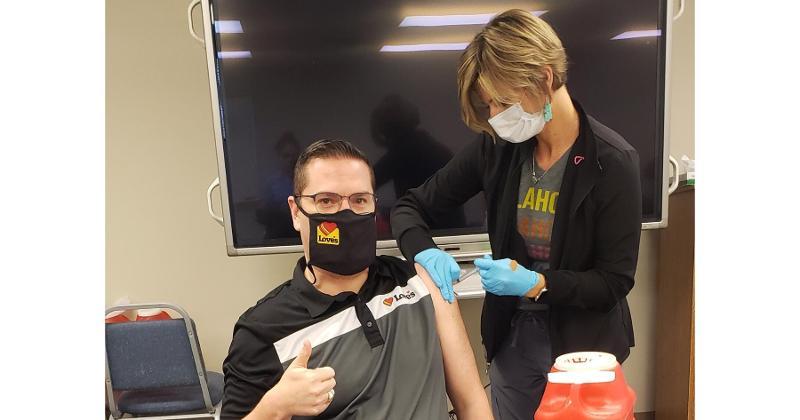 love's covid-19 vaccination