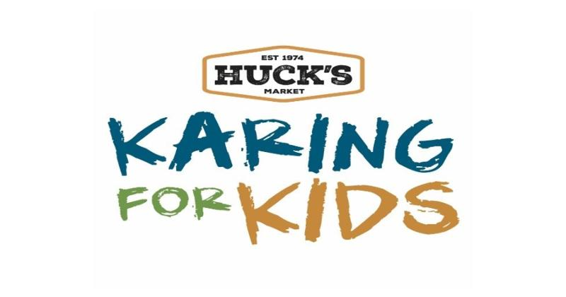 Huck's and Karing for Kids logo