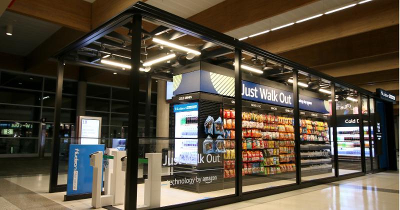 hudson airport kiosk