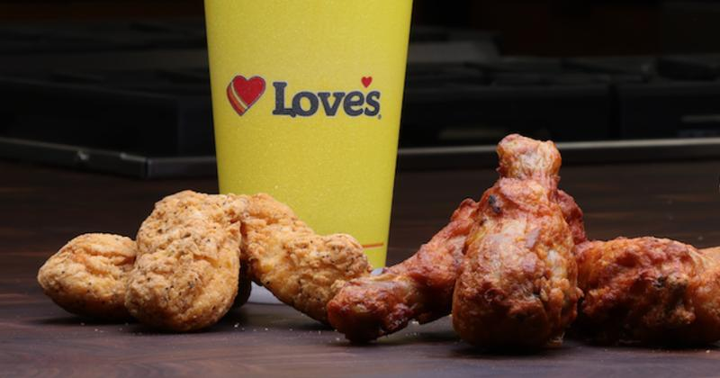 Love's chicken products