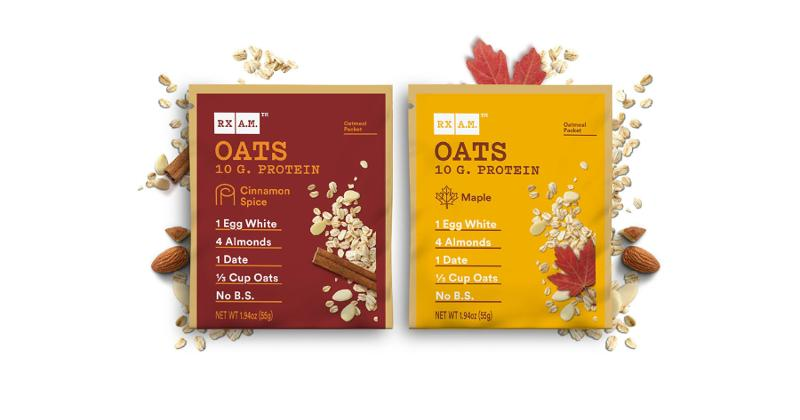 Rx A.M. Oats Packets
