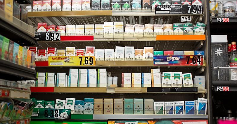 Tobacco shelves