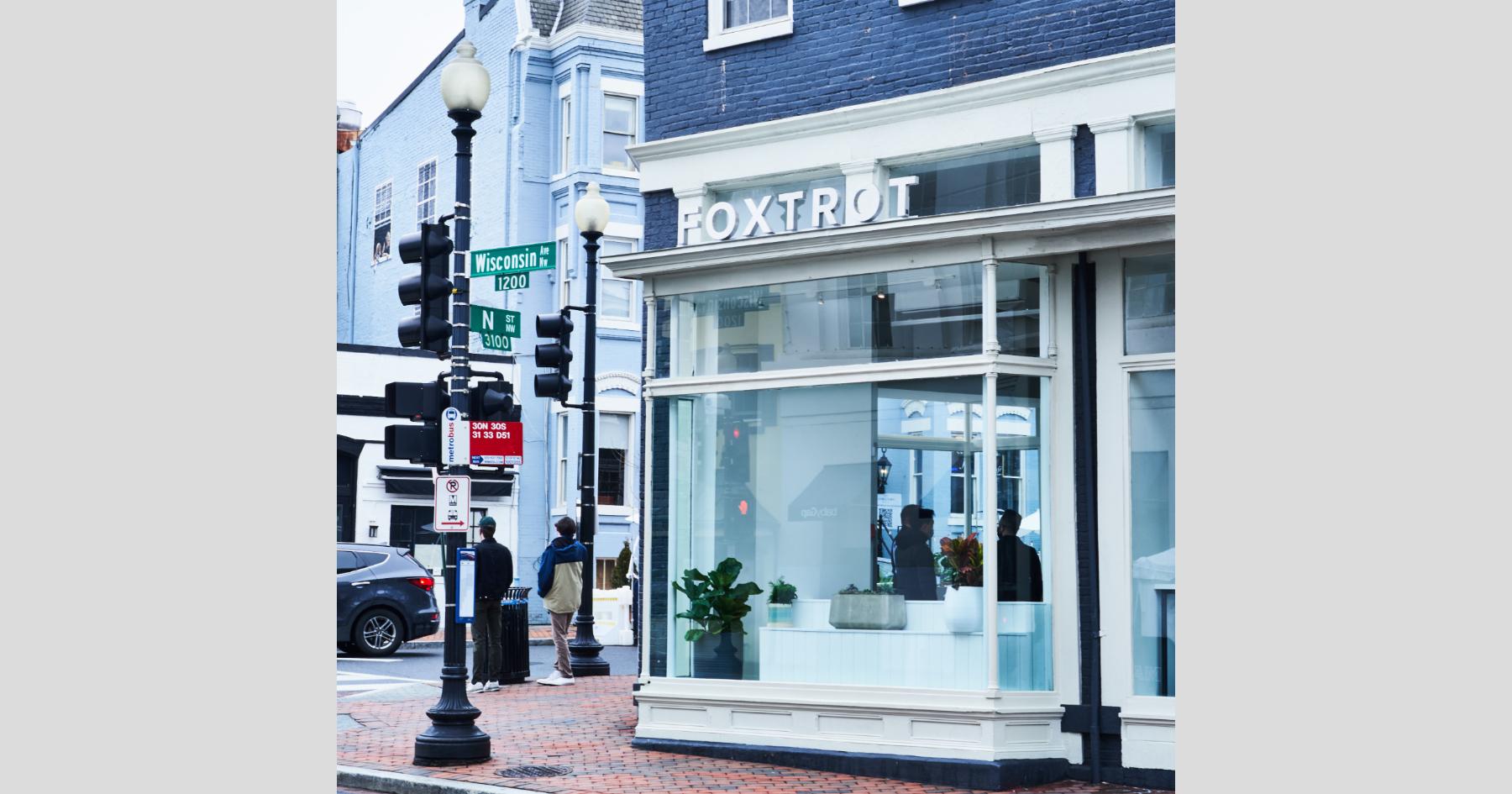 Foxtrot D.C. Georgetown exterior