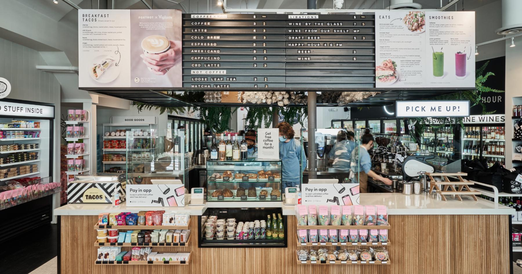 Foxtrot D.C. Georgetown Cafe