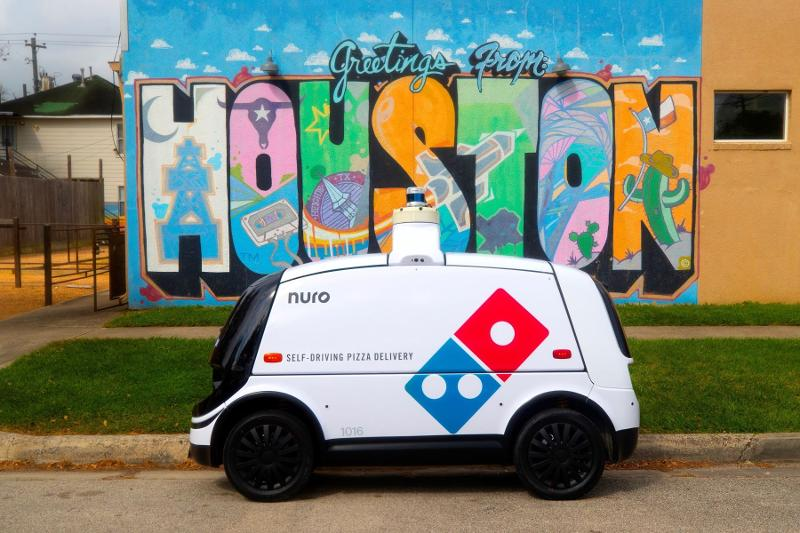 Domino's robot delivery