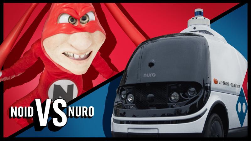 Domino's Noid versus Nuro