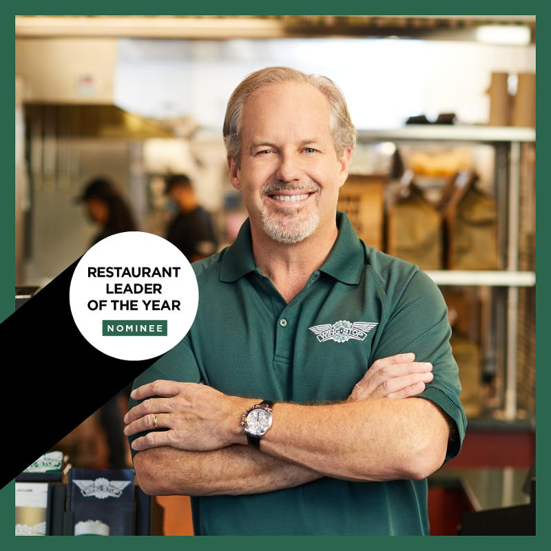 Charlie Morrison Restaurant Leader of the Year nominee