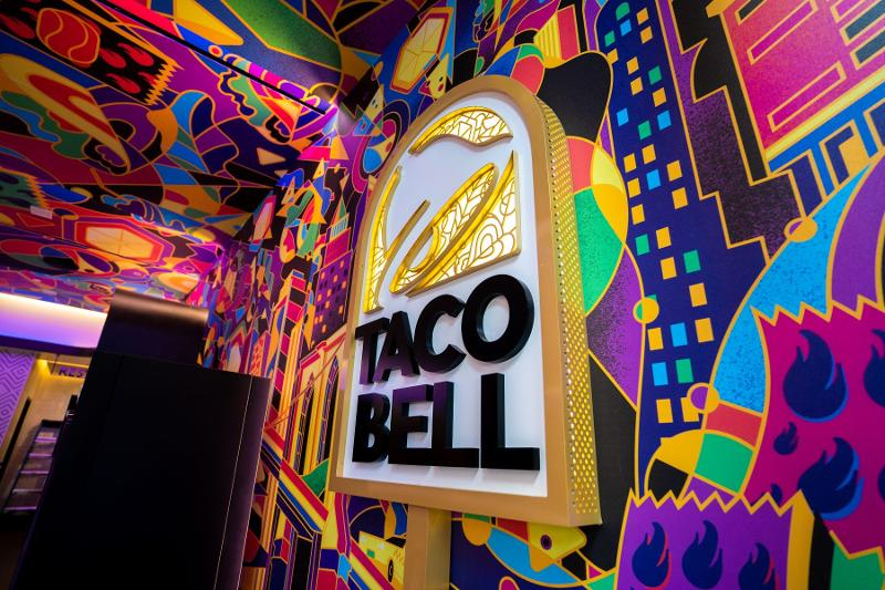 Taco Bell Times Square