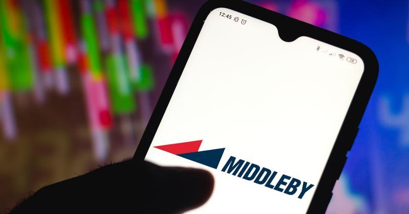 Middleby logo on phone