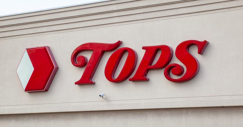 Tops sign