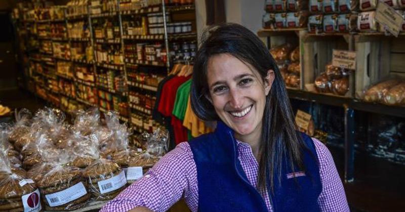 Danielle Vogel, founder and owner of Glen's Garden Market