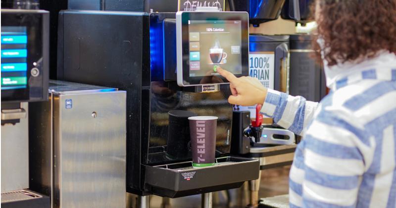 Specialty coffee machine