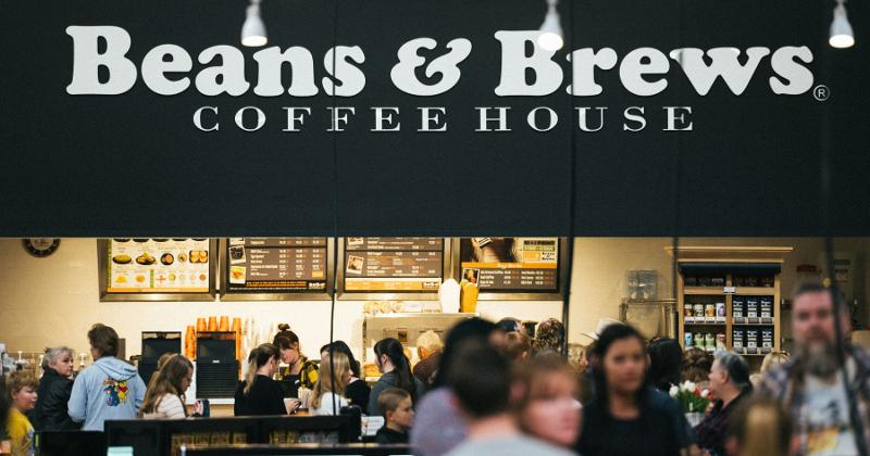 Beans & Brews Coffeehouse Bee's Marketplace