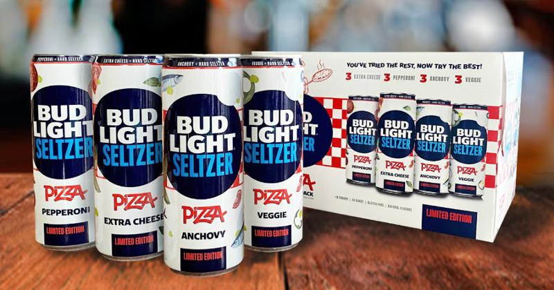 Bud LightApril Fools' Day pizza beverage