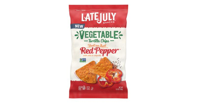 Late July Vegetable Tortilla Chips