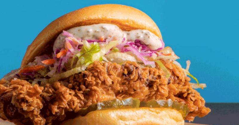 Streat chicken sandwich