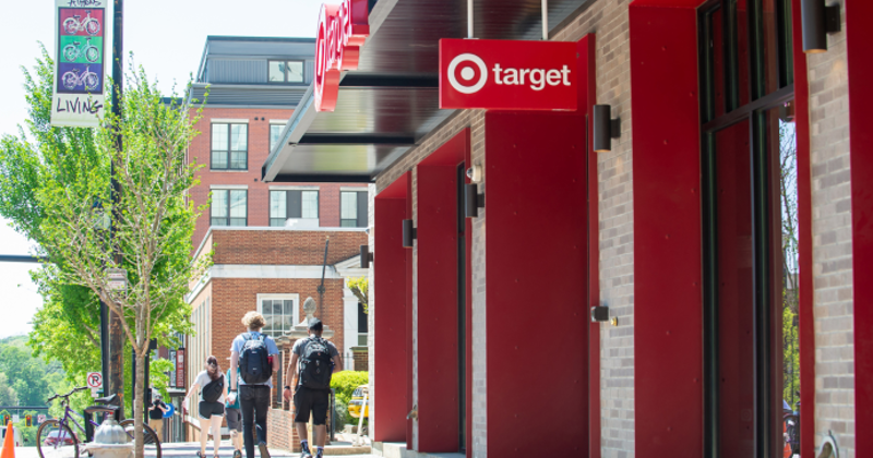 New Target small-format store in Athens, Ga.